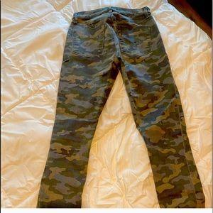 Seven7 Sandstorm Camo Curvy Jeans-NWOT!!!!